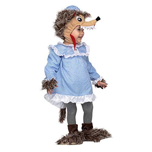 Wolf Baby Kostüm - My Other Me 205169 Verkleidung Adultos unisex bunt 12-24M