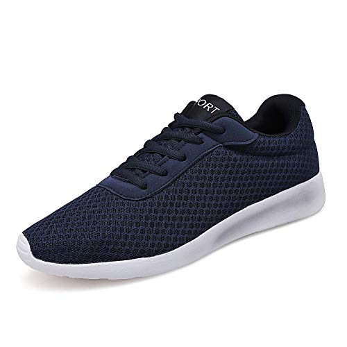Uomo Scarpe da Corsa Sport Classica Stringata Sneaker Palestra Running Sneaker