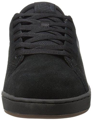 Etnies Fader LS, Chaussures de Skateboard Homme Noir - Schwarz (BLACK/CHARCOAL/GUM/558)