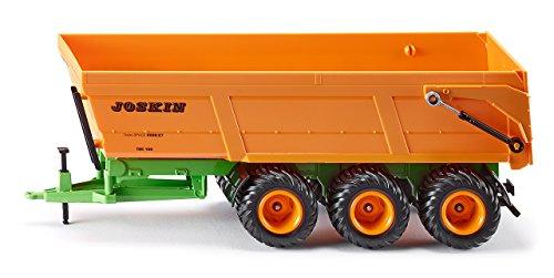 Siku - 2892 - Véhicule sans piles - Benne monocoque 3 essieux Joskin - 1,32ème - métal 4006874028924