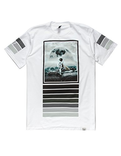 Imaginary Foundation - - Herren Moonsurfer T-Shirt White
