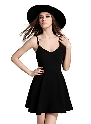 FIVE CATS Women angel wings Strappy Sleeveless Swing Mini Cocktail Dress Top - 2 colors - sizes 10-14