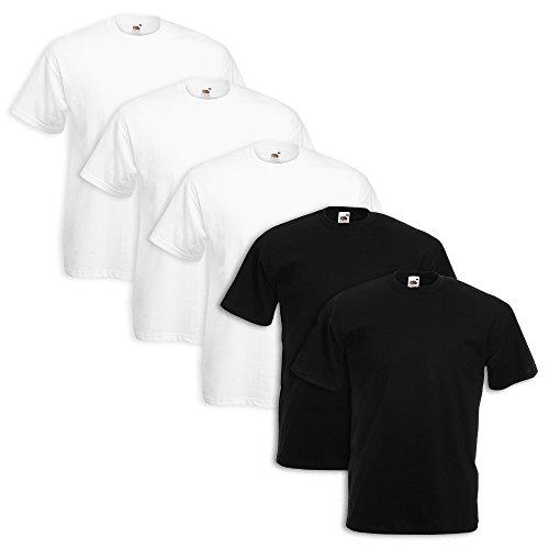 set-5-t-shirt-fruit-of-the-loom-3-pezzi-bianco-2-nero-m-4