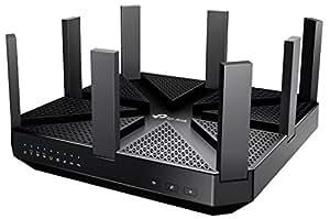 TP-Link Archer C5400 AC5400 Wireless Tri-Band MU-MIMO Gigabit Router (Black)
