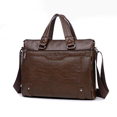 Geschäfts-horizontale Handtaschen-Retro- Mann-Schulter-diagonaler Aktenkoffer A