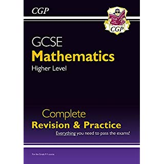 GCSE Maths Complete Revision & Practice: Higher - for the Grade 9-1 Course (CGP GCSE Maths 9-1 Revision) (English Edition)