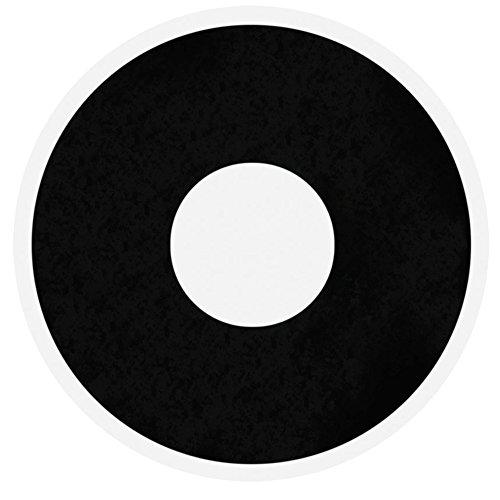 Lenti a contatto colorate nere trucco carnevale