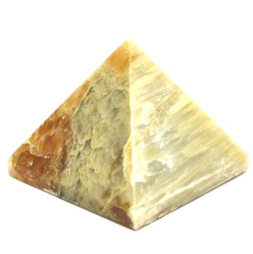 echtem Edelstein feine Qualität Pyramiden metaphysisch Kristall Pyramiden Cats Eye