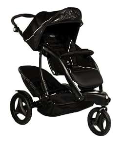 Graco Trekko Duo Three Wheel Stroller, Sport Luxe
