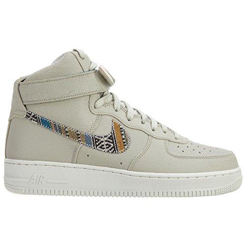 Nike Air Force 1 High '07, Baskets Homme Light Bone/Light Bone