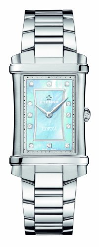 ETERNA WOMEN'S STEEL BRACELET & CASE QUARTZ BLUE DIAL WATCH 2410.4187.0264