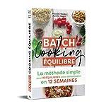 Batch Cooking équilibre de Pascale Weeks