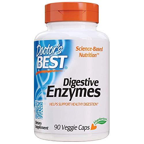 Doctor\'s Best | Verdauungsenzyme (Digestive Enzymes) | 90 vegane Kapseln | glutenfrei