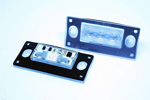 Preisvergleich Produktbild 2x Kennzeichenbeleuchtung LED A. A3 8L A4 B5 AVANT FACELIFT CANBUS