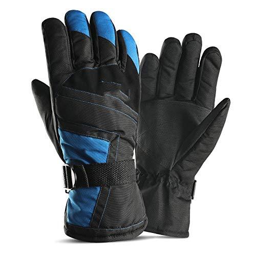 d23669dd59d4b DYEWD Homme Mme chaud gants d'hiver, des gants imperméables épais coupe-vent