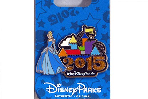 Disney WDW 2015 Castle with Princess Cinderella Pin