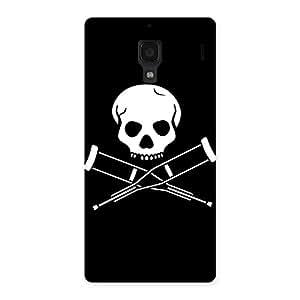 Impressive Danger Black Back Case Cover for Redmi 1S