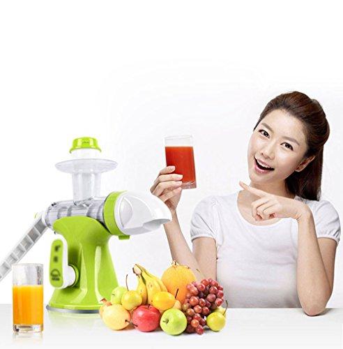 JKYQ Gesunde Entsafter Obst und Gemüse Hand-Manual Weizengras Entsafter Küche oder Esszimmer Hand Crank Reamer Kinder Saft Maschine EIS Maschine