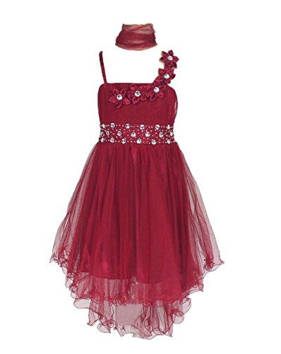 Sin Mangas Vestido Tul Vestido De Fiesta Para Niña Vestido De Madrina Vestido De Ahijada Para 6 12 Años