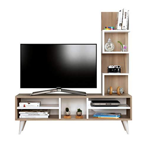 Homidea LILY Wohnwand – TV Lowboard – Fernsehtisch – TV Möbel in modernem Design