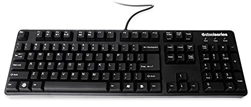 SteelSeries 6Gv2 mechanische Gaming Tastatur (QWERTY, Spanisches Tastaturlayout)