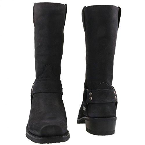Sendra Biker Boots Thinsulate 8833 schwarz Schwarz