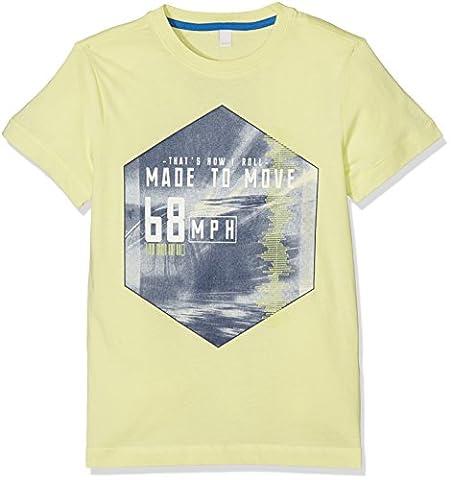 ESPRIT Jungen T-Shirt RJ10246, Grün (Pistache 531), 140 (Herstellergröße: S)