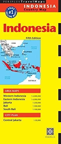 Indonesia Travel Map (Periplus Travel Maps) por Periplus Editions