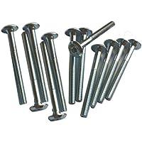 1 docena (12 piezas) cuna tornillo de muebles Tornillo Tornillo Allen SW4 6 mm M6 x 60mm