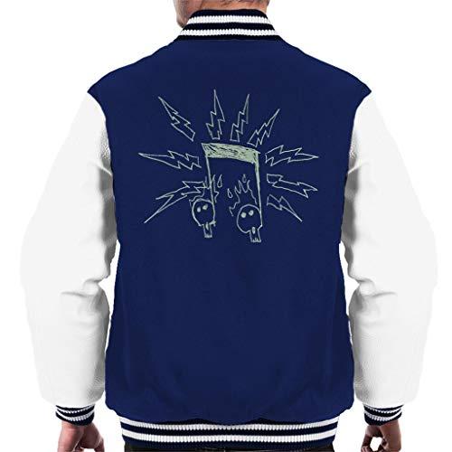 Comics Kingdom Zits Electric Notes Men's Varsity Jacket High-school-varsity-jacken