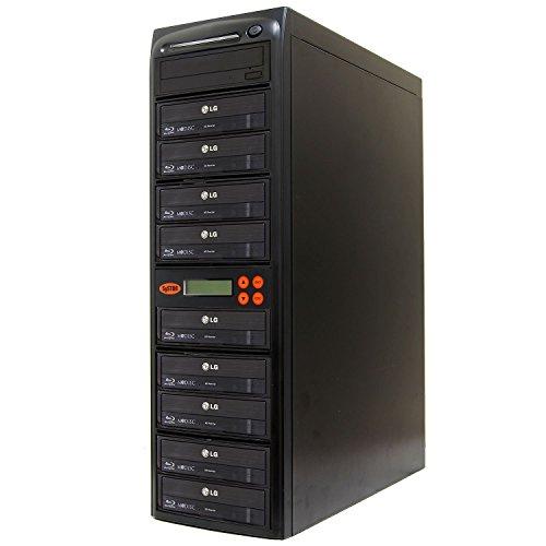 Systor 1-9 Blu-ray 16X BD M-disc CD/DVD Kopierstation