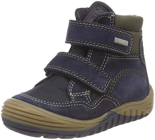 Richter Kinderschuhe Jungen Marvis Klassische Stiefel, Blau (Atlantic/Birch 7202), 34 EU