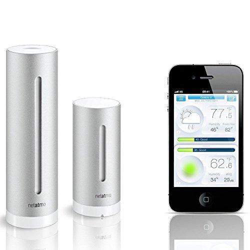 Netatmo Wetterstation mit App für Smartphones