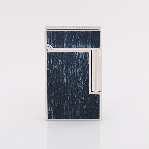 st-dupont-accendino-dupont-l2-75-anniversario-blue-flamed-natural-lacquer