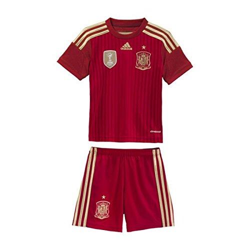 Spanien Trikot Set Home 2014 Home Adidas Kindergröße 128