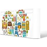 Burg-Wächter buzones, diseño de imagen de correo, chapa de acero de colour blanco, por correo electrónico 5877 vatios 72 x 32 x 10 cm con diseño de París, mon Amour
