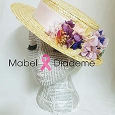 6154036f7 Mabel Diademe canotiers bodas flores preservadas ceremonia evento festival.