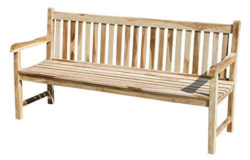 KMH, Teak 4-sitzer Gartenbank 'Classic' 180 cm (#102088)