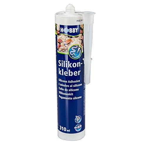 Hobby 11940 Silikonkleber, Kartusche, transparent, 310 ml