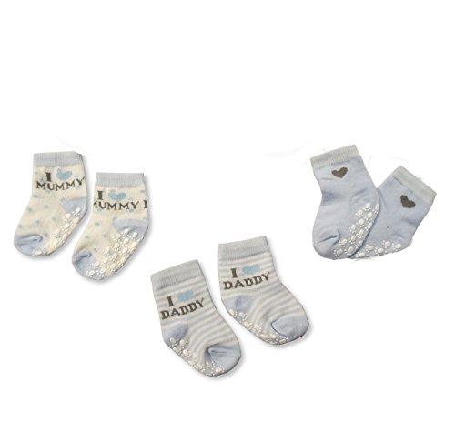 KATIES PLAYPEN® / BABY BEST BUYS Baby Jungen (0-24 Monate) Socken blau blau Gr. S, blau (Lacy Socken Für Babys)