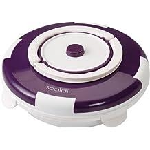 Ariete Scaldì - Calentador de alimentos (105W, Violeta, Color blanco, 24 cm, 24 cm, 10 cm)