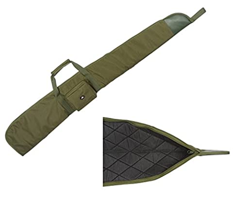Case4Life Green Padded Protective Air Rifle Case / Shotgun / Hunting Bag + Removable Padded Shoulder Strap - Lifetime