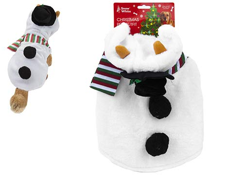 Toyland® Plüsch Schneemann Pet Oufit - Pet Dress -