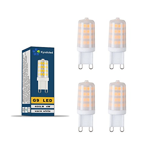 OSRAM LED STAR / Ampoule Capsule LED, Culot G9, 1,8W Equivalent 20W, 12V, dépolie, Blanc Chaud 2700K, Lot de 1 pièce