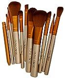 Puna Store 12 Piece Makeup Brush Set with Storage Box