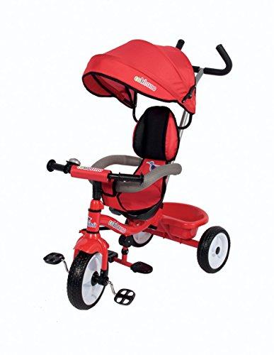 Colibri 00118001Colibrino Triciclo, size-86x 50x 98cm, Colour-Red