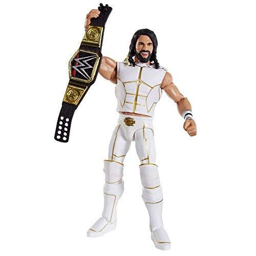 WWE Elite Série 45 Figurine D'Action - Blanc Tenue Seth Rollins W/ WWE Ceinture Champion Accessoire