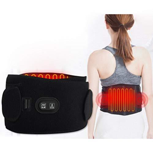 Cozywind Massagegürtel, beheizt, Lendenwirbel-Massagegerät, Rückenstützgürtel/verstellbare Träger und atmungsaktiver Gürtel für Rückenkrämpfe, Arthritis und Bauchschmerzen