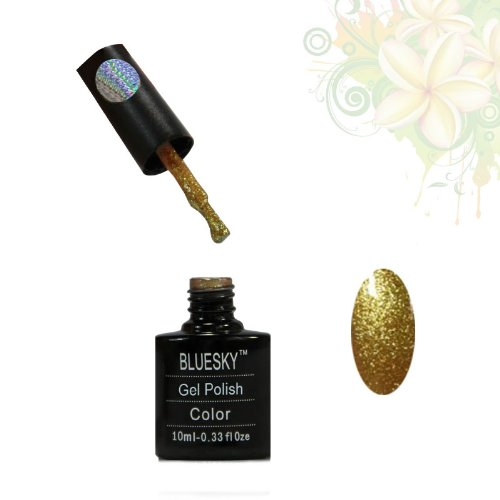 BLUESKY Gel-nagelfarben Nägel Angel Spiegellampe modern Badleuchte Glitter Nail Gel 10ml