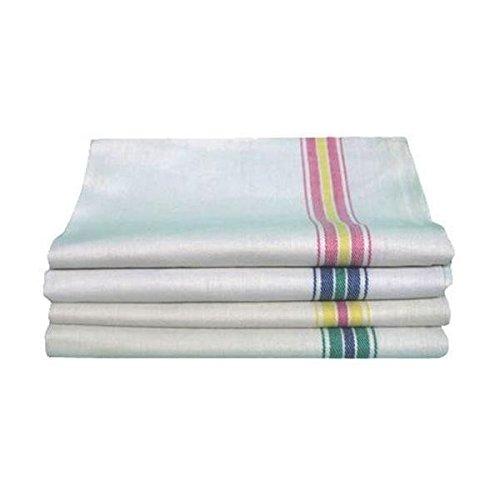 Strofinacci spigati 12 pezzi, multiuso 50x70 cotone panni asciugapiatti asciugamani canovacci